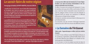 article journée européenne des métiers d'art comp