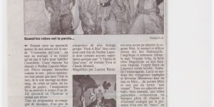 article la provence le garage laurent en robe de mariée comp