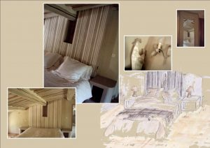 chambre laurie rayure book